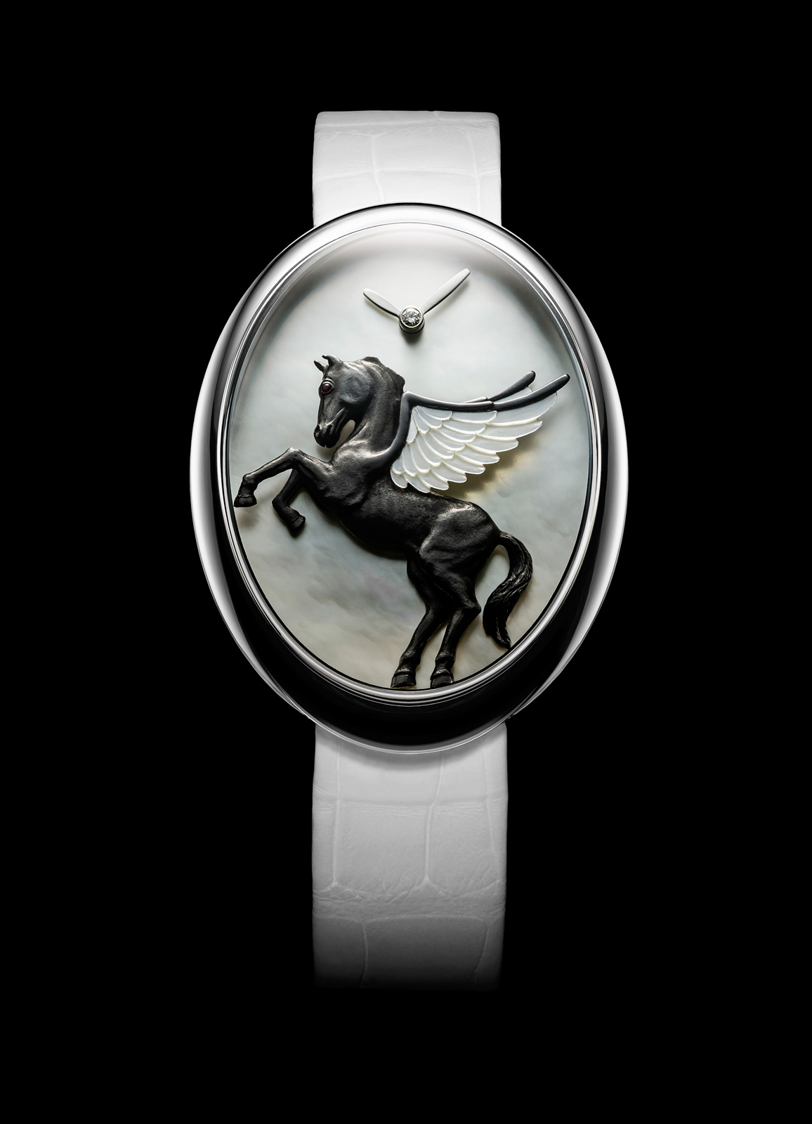 Van 'T Hoff Black Pegasus Art Watch