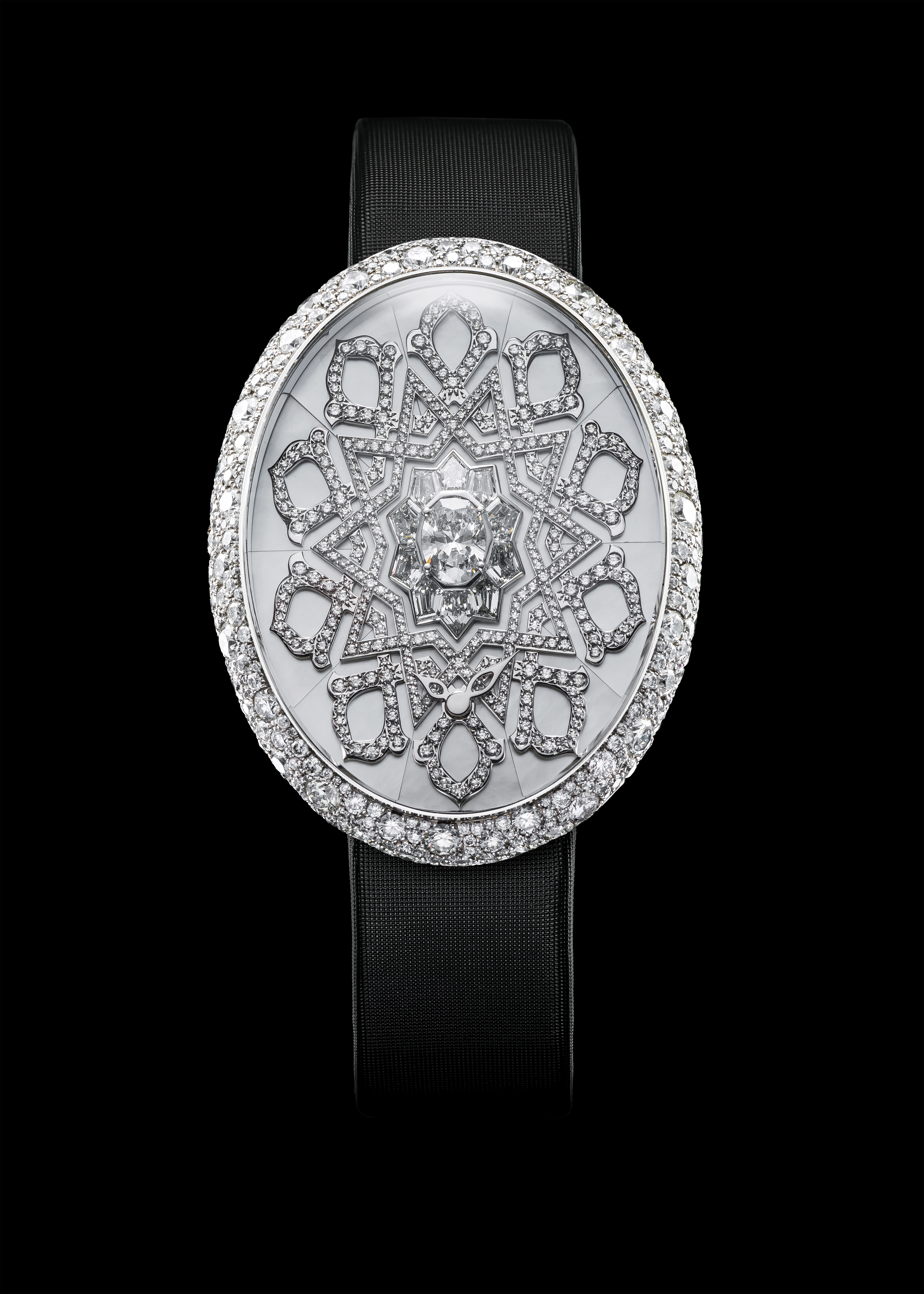 Van 'T Hoff Diamond Arabesque Art Watch