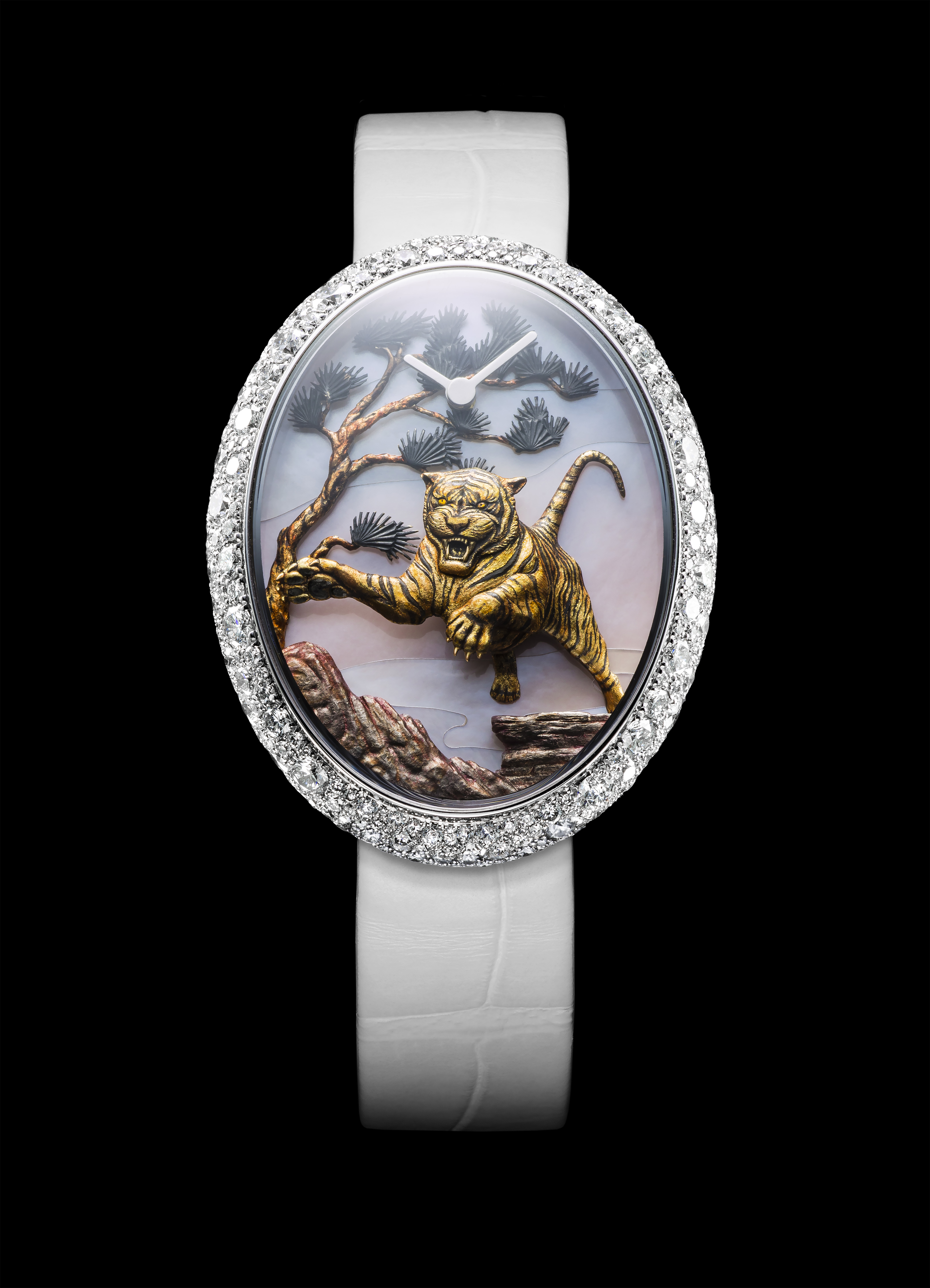 Van 'T Hoff Time of the Tiger Art Watch