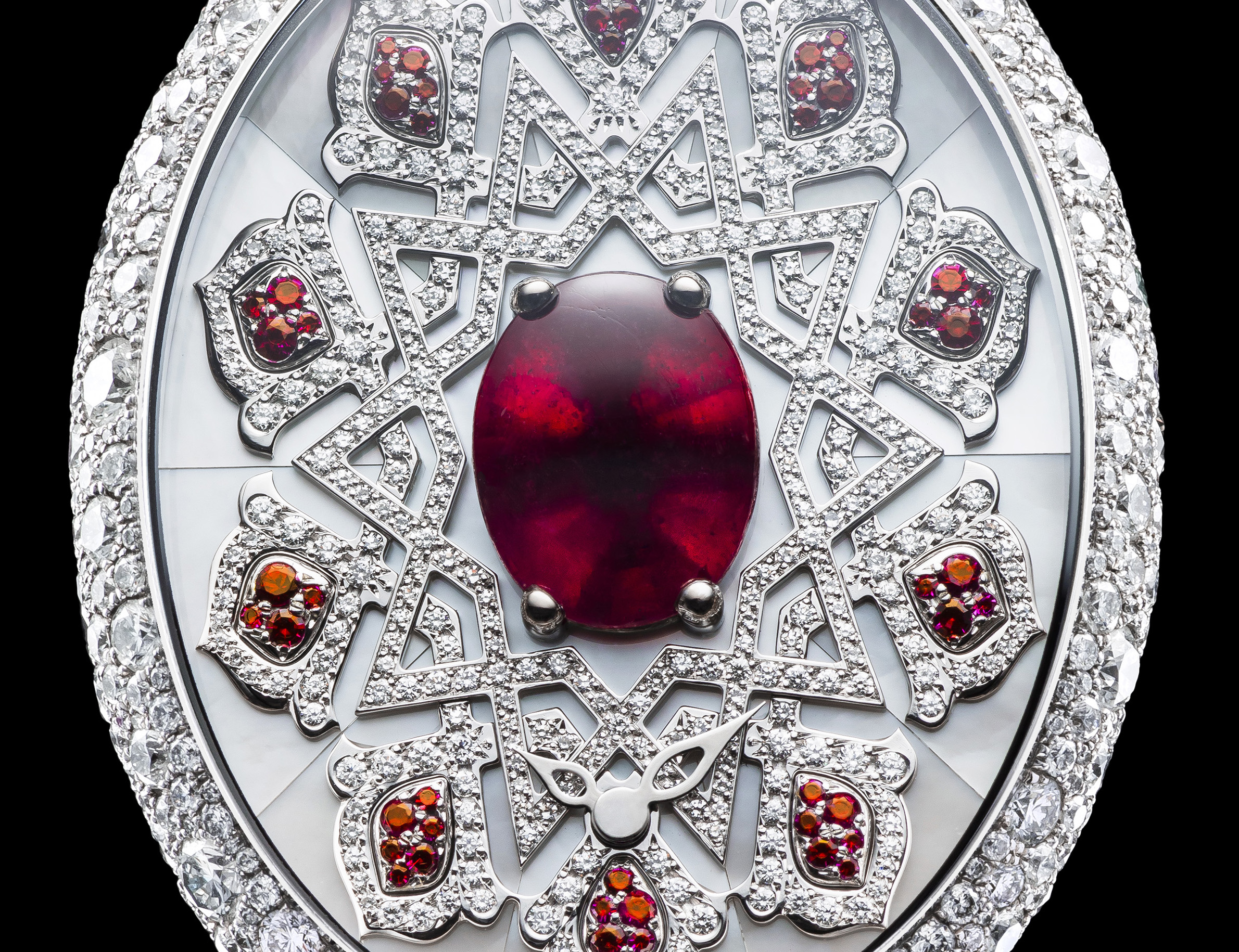 Van 'T Hoff Ruby Arabesque Art Watch