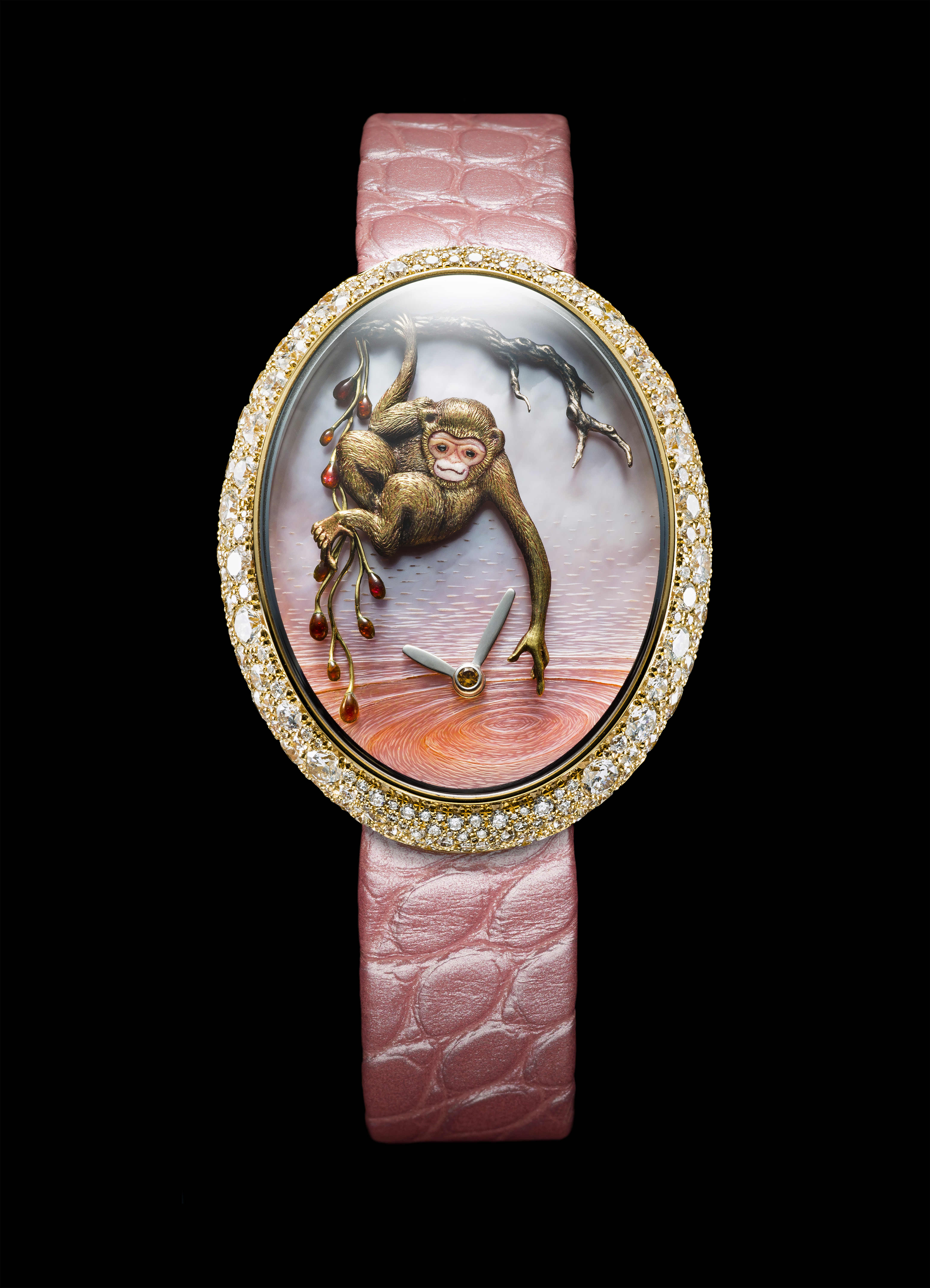 Van 'T Hoff Time of the Monkey Art Watch