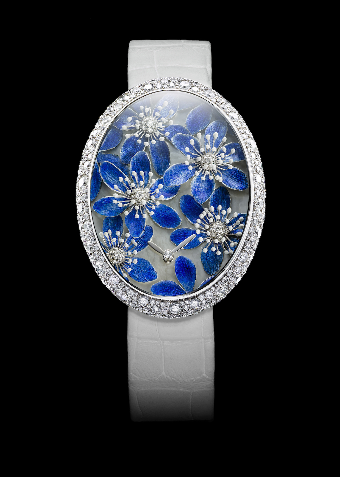 Melody in Blue Swiss watch by Van't Hoff